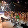 Final du défilé Victoria's Secret 2012 à New York. Le 7 novembre 2012.