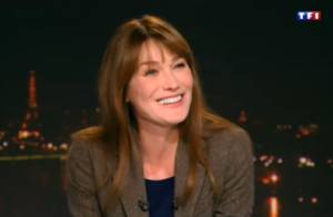 Carla Bruni, troublée par son retour : ''1h30 de douceur, comme une caresse''