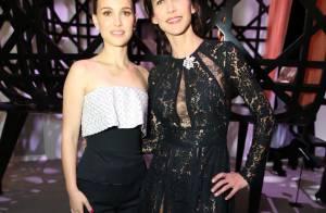 Natalie Portman et Sophie Marceau, enivrantes à Paris pour une soirée d'art