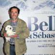 Le réalisateur Nicolas Vanier lors de l'avant-première du film Belle et Sébastien à Paris le 17 novembre 2013