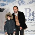 Felix Bossuet et Mehdi El Glaoui (jeune heros du feuilleton des annees 60, Belle et Sebastien) - Premiere du film 'Belle Et Sebastien' au Grand Rex Paris le 17 novembre 201317/11/2013 - Paris