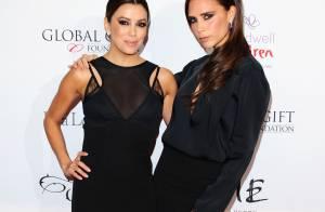 Victoria Beckham, Eva Longoria : Duo glamour face à la bombe Nicole Scherzinger