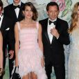 Charlotte Casiraghi et Gad Elmaleh ont rendu publique leur histoire d'amour en prenant part en couple au Bal de la Rose 2013, le 23 mars 2013 au Sporting de Monte-Carlo.