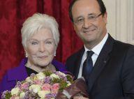 Line Renaud, honorée devant ses amis stars, vit une ''merveilleuse histoire''
