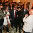 "Exclusif - Yamina Benguigui, Mehriban Alieva, Rachida Dati, Reza Deghatiau vernissage de l'exposition ""Azerbaïdjan: Terre de Tolérance""à Paris, le 22 novembre 2013"