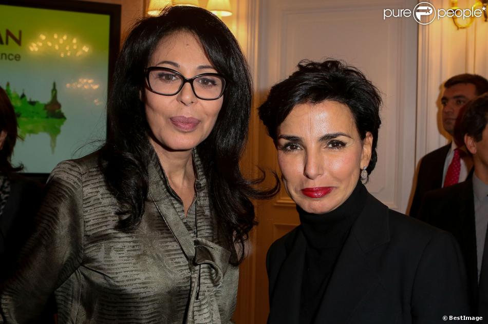 """Exclusif - Yamina Benguigui, Rachida Datiau vernissage de l'exposition """"Azerbaïdjan: Terre de Tolérance""""à Paris, le 22 novembre 2013"""