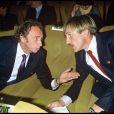 Pierre Richard et Gérard Depardieu lors de la première du film Les Compères en 1983