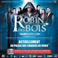 La troupe de Robin des Bois, en représentation au Palais des Congrès jusqu'au 5 janvier 2014.