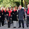 Stéphanie de Monaco, avec sa fille Pauline Ducruet et son frère le prince Albert II, prenait part le 29 novembre 2013, à deux jours de la Journée mondiale contre le sida, à une commémoration sur le parvis du Musée océanographique de Monte-Carlo. En présence de membres et d'affiliés de l'association Fight Aids Monaco présidée par la princesse, huit courtepointes ont été déployées en hommage aux malades décédés.