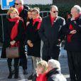 La princesse Stéphanie de Monaco, avec sa fille Pauline Ducruet et son frère le prince Albert II, prenait part le 29 novembre 2013, à deux jours de la Journée mondiale contre le sida, à une commémoration sur le parvis du Musée océanographique de Monte-Carlo. En présence de membres et d'affiliés de l'association Fight Aids Monaco présidée par la princesse, huit courtepointes ont été déployées en hommage aux malades décédés.