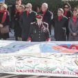 Pauline Ducruet s'est jointe à la princesse Stéphanie de Monaco, au prince Albert II et à des membres de Fight Aids Monaco le 29 novembre 2013 pour une commémoration sur le parvis du Musée océanographique de Monte-Carlo, à deux jours de la journée mondiale contre le sida. Huit courtepointes ont été déployées en hommage aux malades décédés.