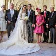 Mariage religieux de S.A.R le Prince Felix de Luxembourg et Claire Lademacher en la basilique Sainte-Marie-Madeleine de Saint-Maximin-la-Sainte-Baume en France le 21 septembre 2013