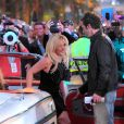 Britney Spears arrive au Planet Hollywood pour la soirée de lancement de sa résidence à Las Vegas pour deux ans de concerts, le mardi 3 décembre 2013.