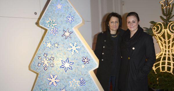 laurence torno et sa fille lors de la 18e dition de l. Black Bedroom Furniture Sets. Home Design Ideas