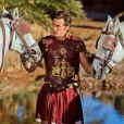 Gianni Giardinelli sexy en Jules César dans Cleopatra Ya Lalla, version marocaine d'Astérix et Cléopâtre