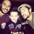 Matt Dallas et son fiancé Bluer Hamilton, sur Instagram, le 8 décembre 2013.