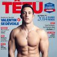 L'ex-candidat de Top Chef, Valentin Néraudeau, fait la couverture de Têtu.