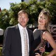 Bode Miller et Morgan Beck lors des ESPY Awards au Nokia Theatre L.A. Live de Los Angeles, le 17 juillet 2013