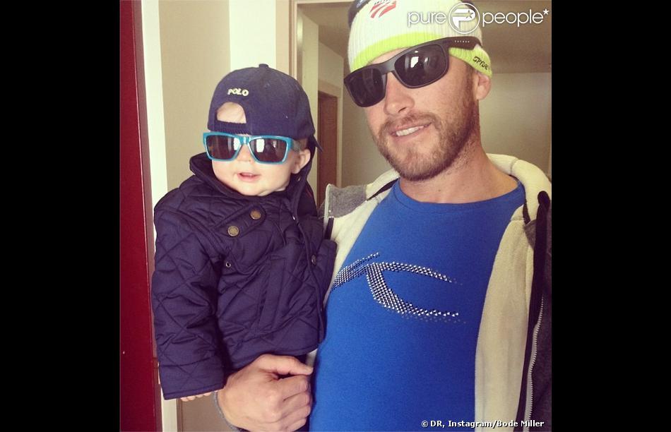 Sam-Nate et son père Bode Miller