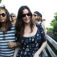 Stevent Tyler et ses filles Mia, Liv et Chelsea et leurs amis à Miami, le 8 décembre 2013.