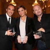 Nikos Aliagas et Cauet : Fiers rois des réseaux sociaux près de Sandrine Quétier