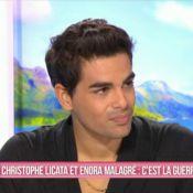 Christophe Licata (DALS) : Exaspéré et blessé par les remarques d'Enora Malagré...