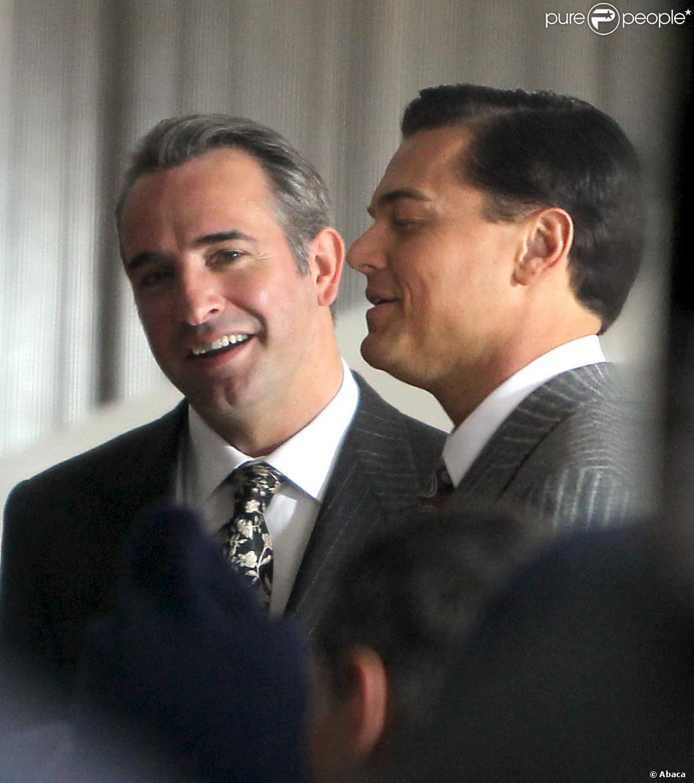 Leonardo dicaprio et jean dujardin sur le tournage de the for Dujardin qui imite de niro