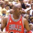 "Michael Jordan durant le ""flu game"" le 11 juin 1997."