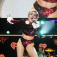 Miley Cyrus au I Heart Radio Jingle Ball, au Madison Square Garden, le vendredi 13 décembre à New York City.
