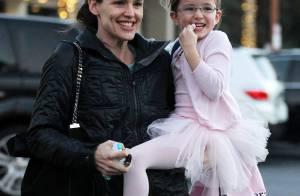 Jennifer Garner, tout sourire pour ses filles : La star ne se ménage pas
