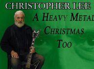Christopher Lee : A 91 ans, la star d'Hollywood chante Noël... en heavy metal