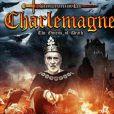 Christopher Lee sur la pochette de son groupe Charlemagne