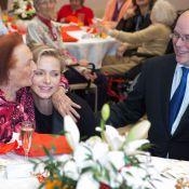 Charlene et Albert de Monaco : Rires et tendresse pour la distribution de Noël
