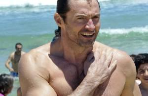 Hugh Jackman : Musclé et remis de son cancer de la peau, il montre sa cicatrice