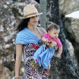 """Exclusif - L'actrice Jenna Dewan de 32 ans profite de la plage à Porto Rico, le 12 decembre 2013, pendant que son mari Channing Tatum tourne le film """"22 Jump Street"""""""