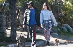 Leighton Meester et Adam Brody : Première virée relax pour les fiancés complices