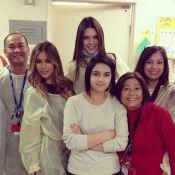 Kim Kardashian : En blouse à l'hôpital avant son réveillon avec Kanye West