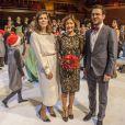 La comtesse Alexandra de Frederiksborg, ex-épouse du prince Joachim de Danemark, lors du concert de Noël du Choeur de filles de Radio Danemark le 22 décembre 2013 à Copenhague.