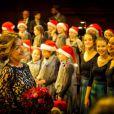La comtesse Alexandra de Frederiksborg, ex-épouse du prince Joachim, lors du concert de Noël du Choeur de filles de Radio Danemark le 22 décembre 2013 à Copenhague.