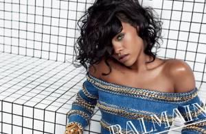Rihanna : Radieuse égérie Balmain, en shooting et en coulisses