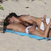 Olivia Palermo et Johannes Huebl fiancés : Tendres baisers et topless à la plage
