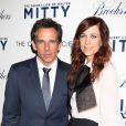 Ben Stiller et Kristen Wiig lors de l'avant-première du film La Vie secrète de Walter Mitty à New York le 19 décembre 2013