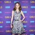 """Lydia Hearst à l'avant-première de la 3e saison de la série """"Girls"""" au Lincoln Center à New York, le 6 janvier 2014."""