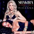 """Shakira et Rihanna ont dévoilé, jeudi 9 janvier 2014, la pochette de leur duo """"Can't remember to forget you""""."""