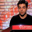 Alejandro dans The Voice 3, samedi 11 janvier 2014.