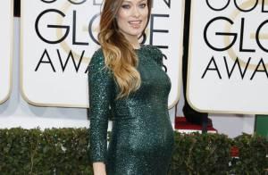 Drew Barrymore, Olivia Wilde... Enceintes et divines aux Golden Globes 2014