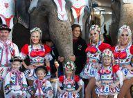 Stéphanie de Monaco : Entre éléphants et troupe colorée, une présidente comblée