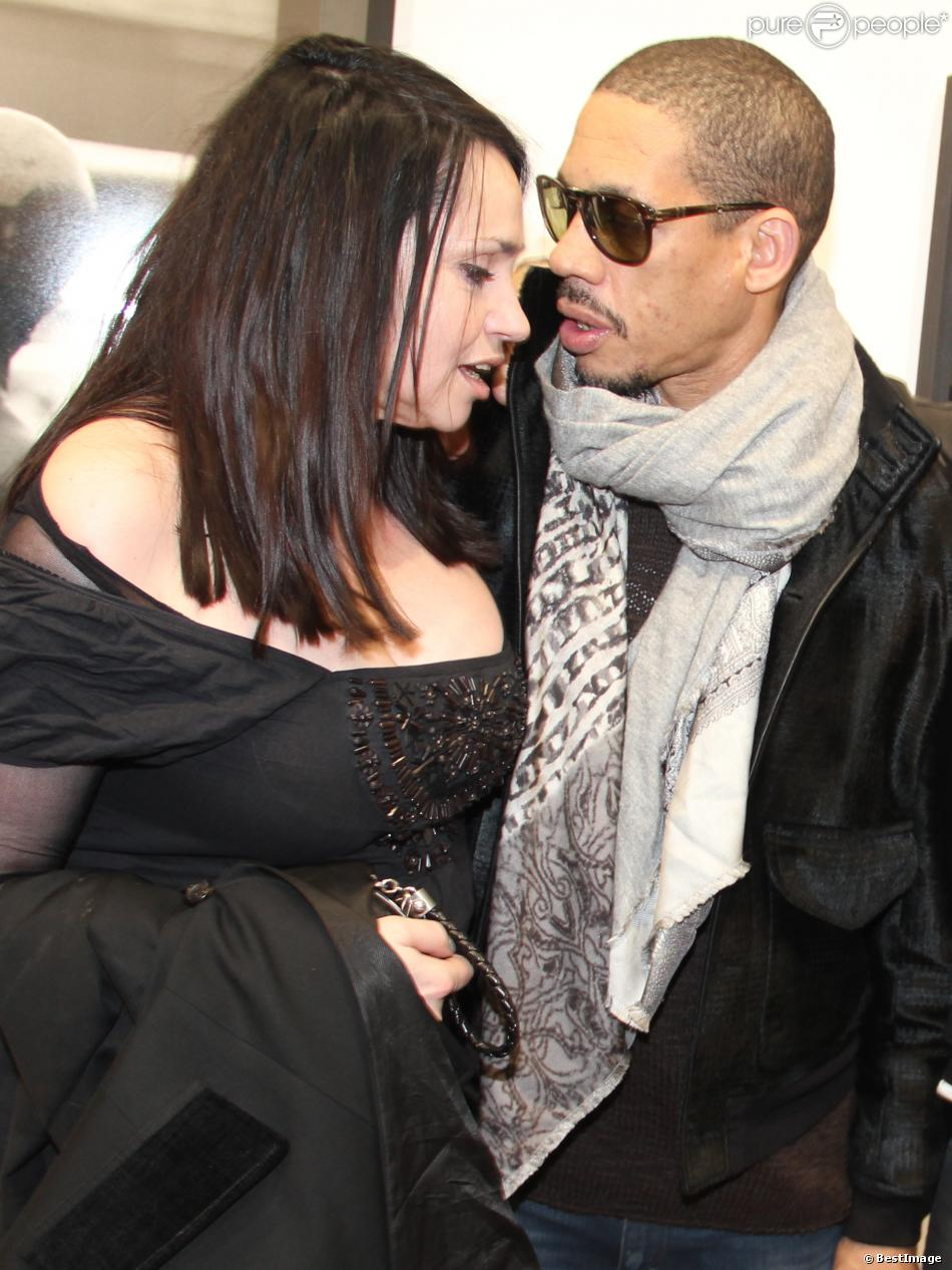B atrice dalle et joeystarr retrouvailles complices des for Beatrice dall joey starr