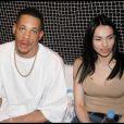 JoeyStarr et Béatrice Dalle au VIP Room lors du Festival de Cannes 2003