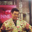 Thomas Isle dans les coulisses de l'émission La Quotienne sur France 5.